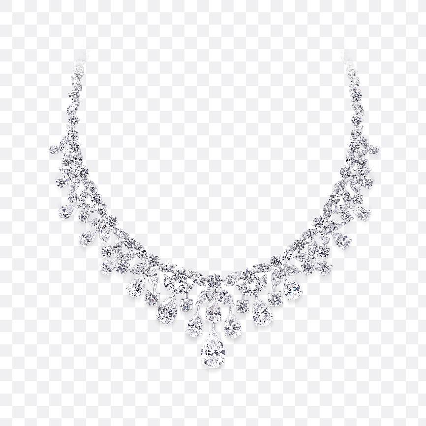 necklace transparent