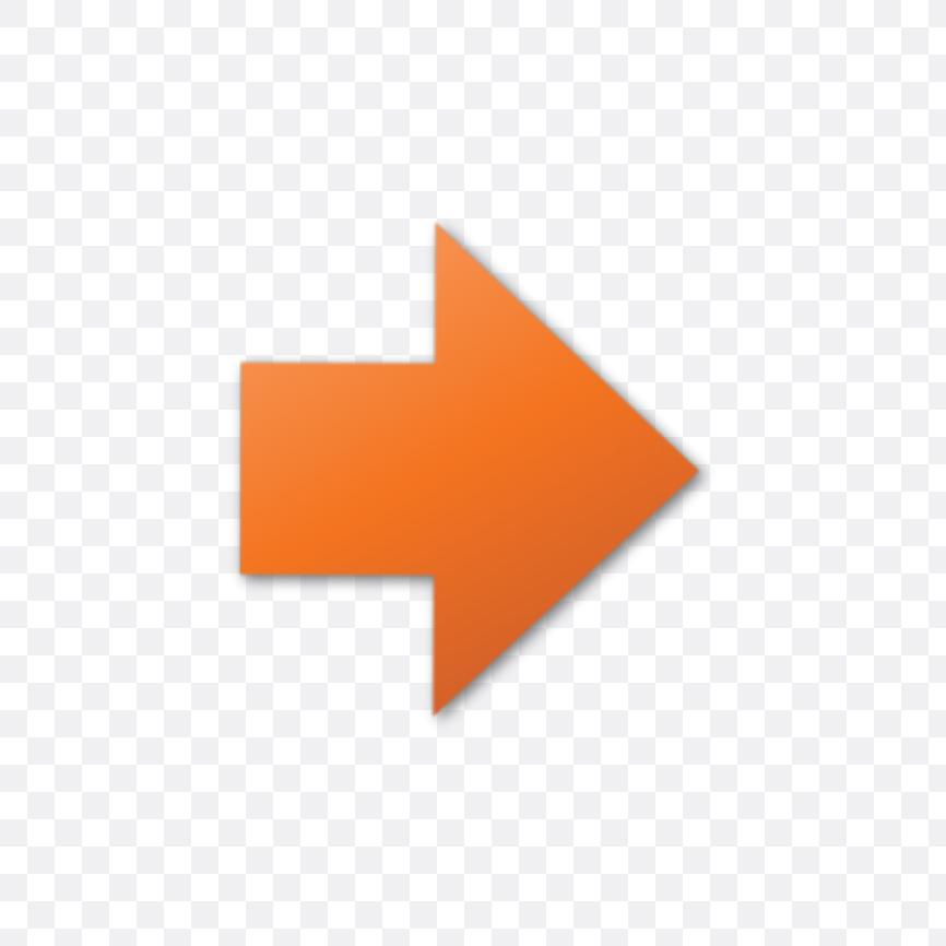 orange arrow icon