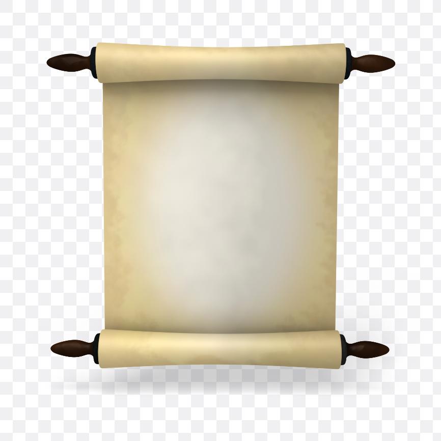 paper scrolls