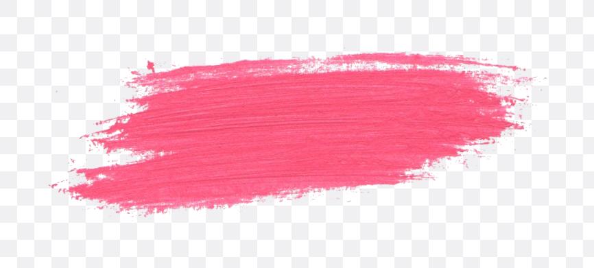 pink paint stroke