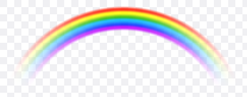 rainbow transparent background