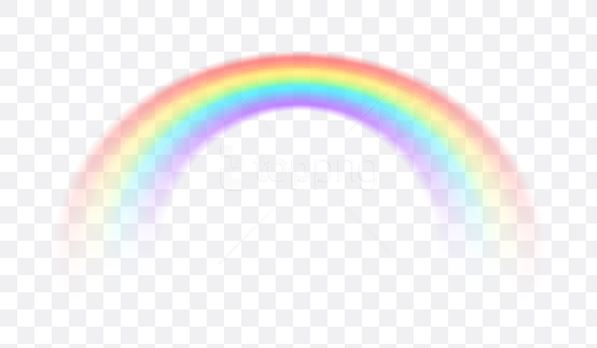 rainbow transparent background