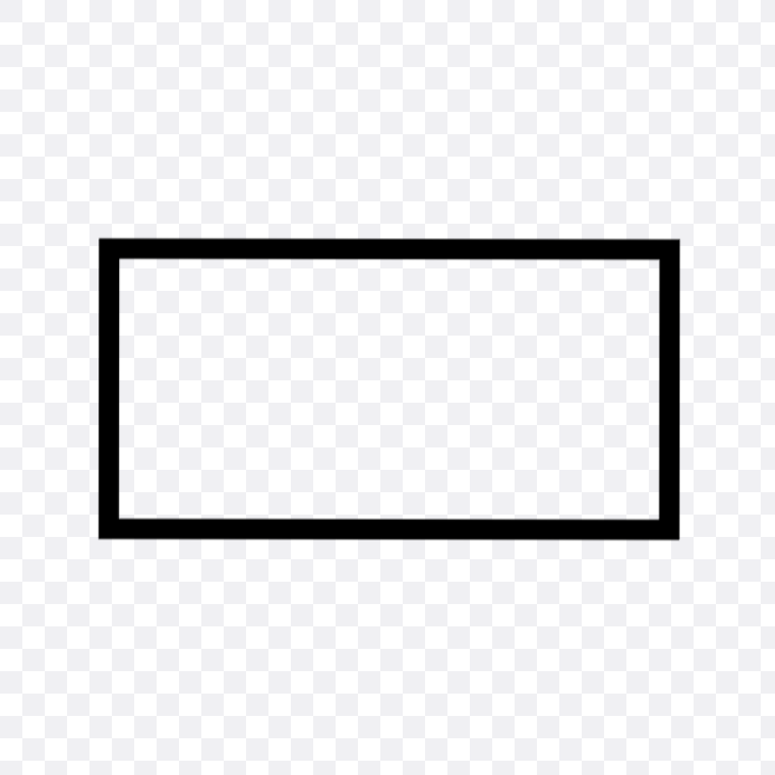 rectangle outline