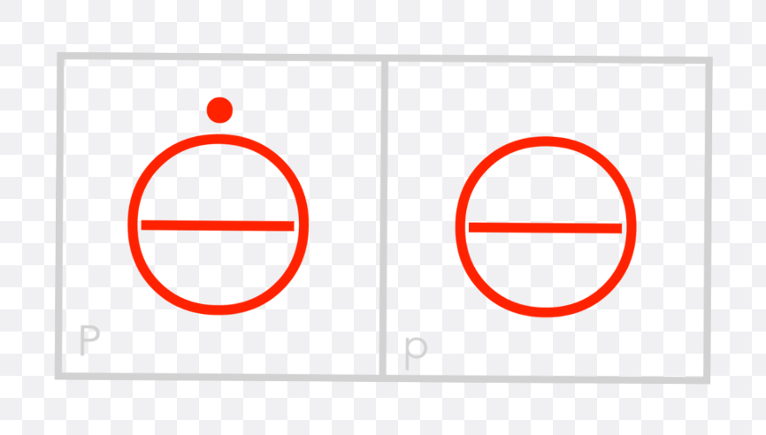 red circle with line