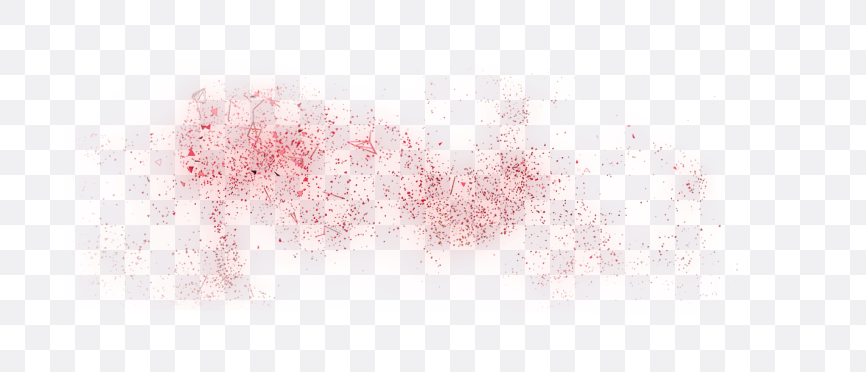 red particles