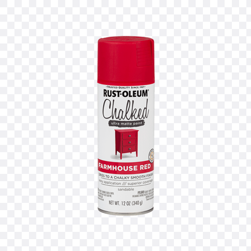red spray paint