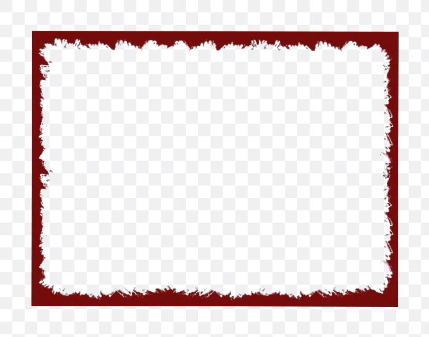 red wedding border