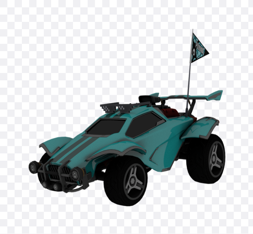 rocket league car