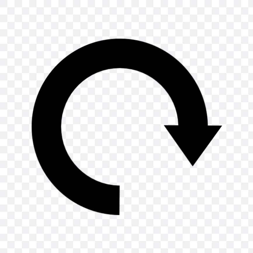 round arrow